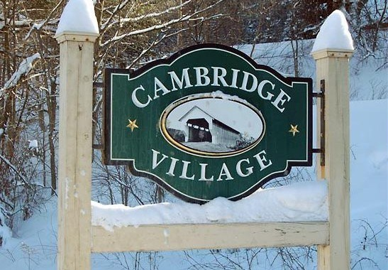Real estate in Cambridge Vermont