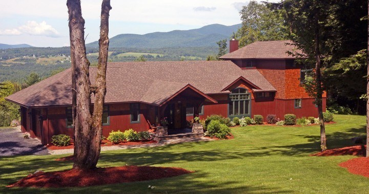 Custom designed Vermont home