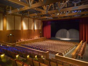 Inside Stowe Spruce Peak Performing Arts Center