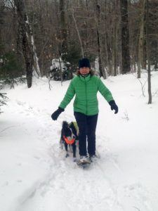 Snowshoeing in Sterling Valley